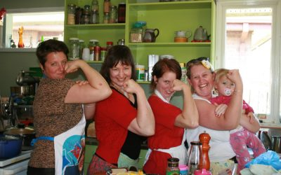 Have a No-Cook Week!  Get together, batch cook and share