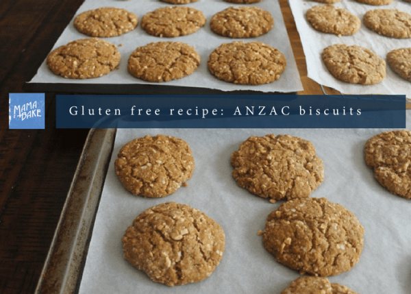 gluten free anzac