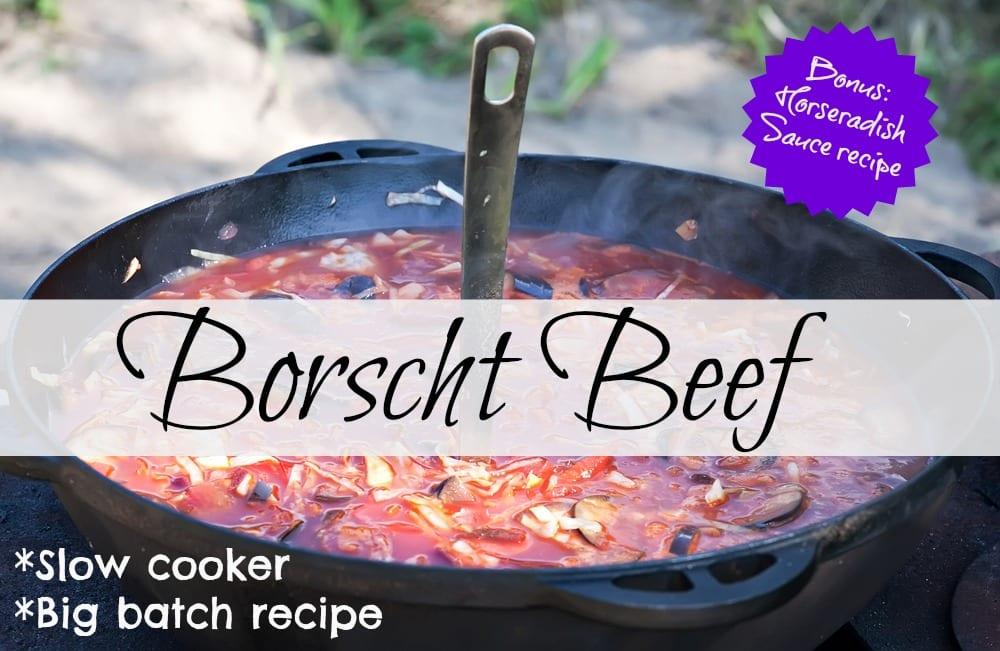 borscht big batch recipe!