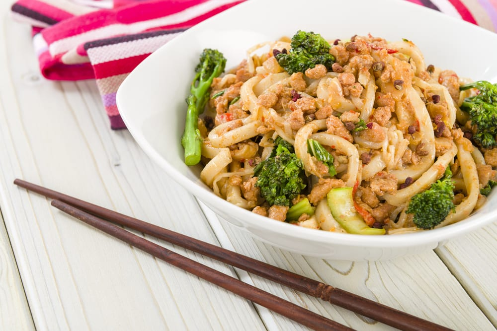 Japanese Minced Chicken & Noodles