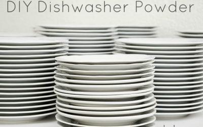 DIY Bulk Dishwashing Powder