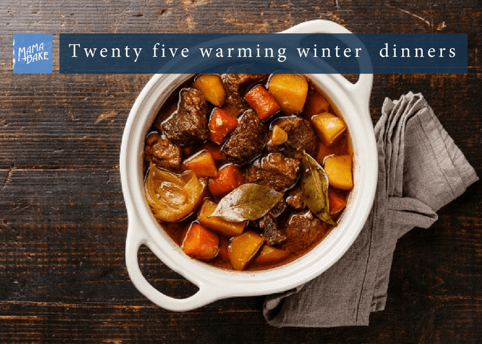 25 Warming Winter Dinners