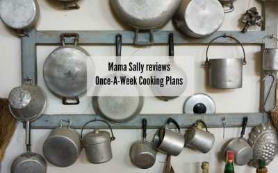 Mama Sally Reviews MamaBake's Once-A-Week Cooking Plan