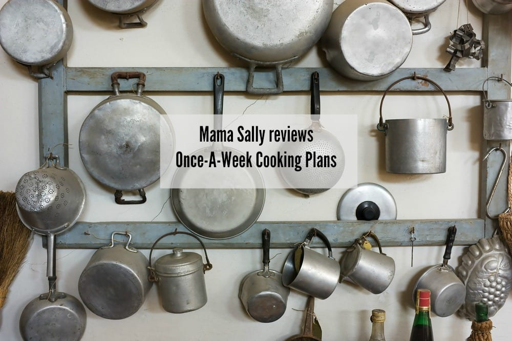 Once A Week Cooking review