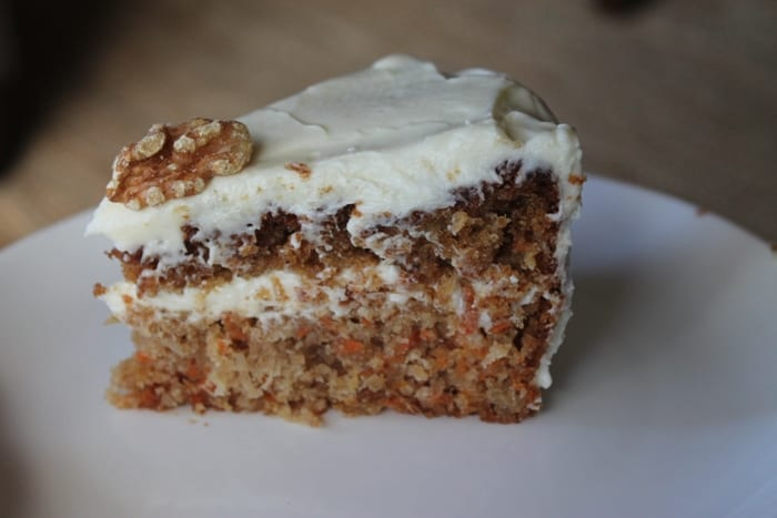 Carrot Cake with Cream Cheese Icing – Big Batch & Gluten Free