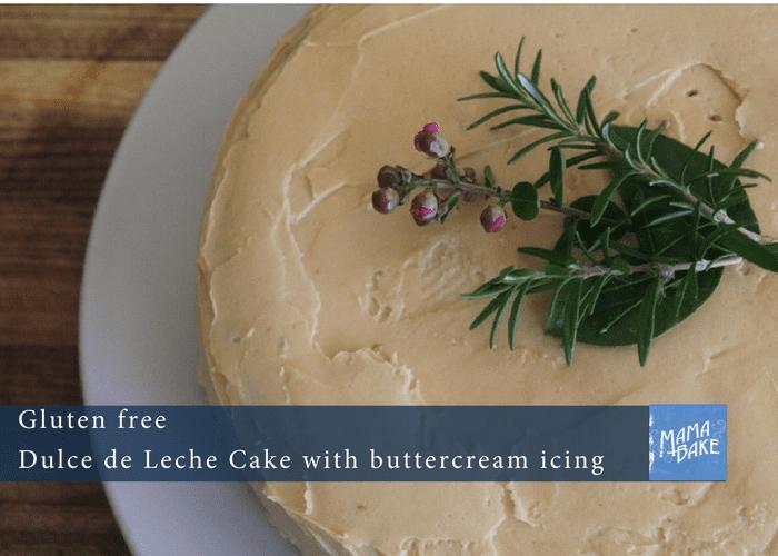 Dulce de leche cake – gluten free!