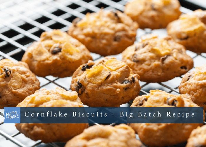 Cornflake Biscuits – Big Batch Recipe
