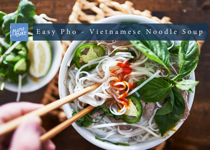 Easy Vietnamese Pho Noodle Soup