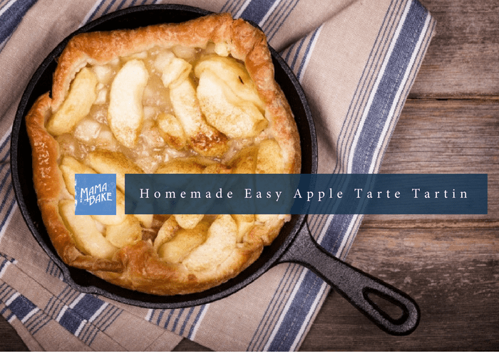 Homemade Easy Apple Tarte Tartin