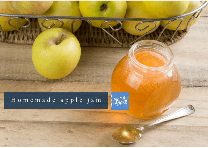 Homemade Apple Jam