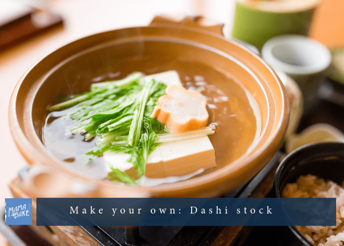 Make Your Own: Dashi Stock