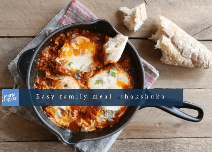 Easy family meal – Shakshuka