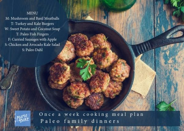 ONCE A WEEK COOKING PLAN PALEO