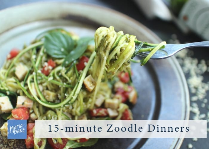 15-Minute Zoodle Dinners