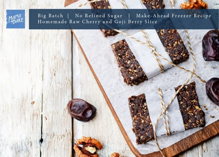 Big Batch Recipe: Raw Cherry & Goji Slice