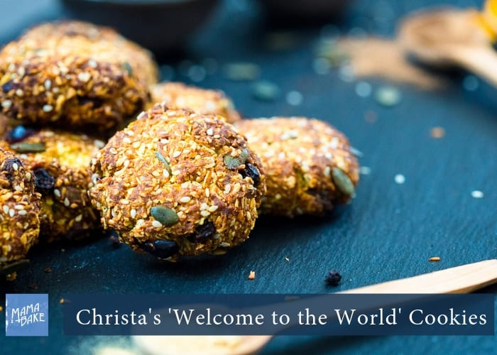 Christa's Welcome to the World Cookies