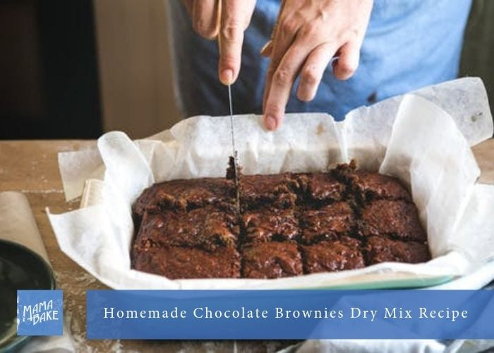 Homemade Chocolate Brownies Dry Mix Recipe