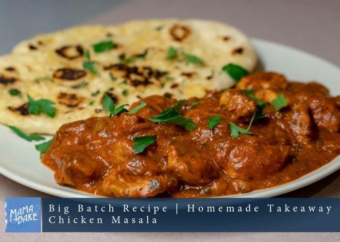 Big Batch Recipe: Slow Cooker Chicken Masala Curry