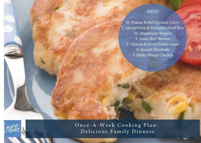 Once-A-Week Cooking Plan: Delicious Family Dinners