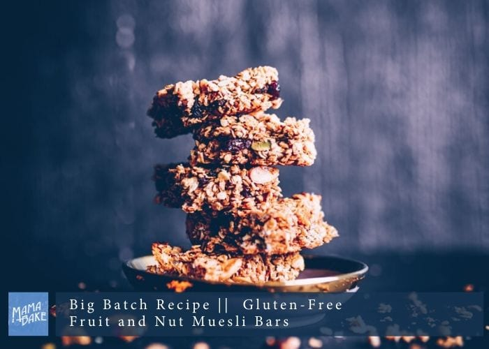 Big Batch Recipe: Fruit 'n' Nut Muesli Bars