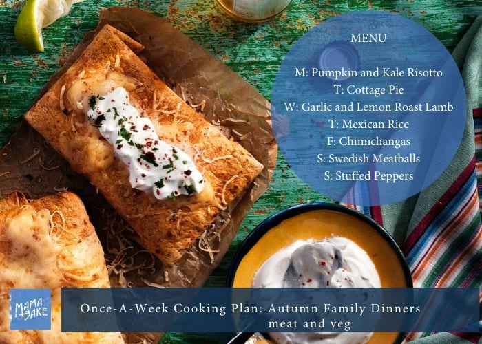 Once-A-Week Cooking Plan: Yummy Family Faves
