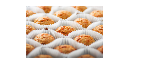 Savoury marinated feta and tomato muffins