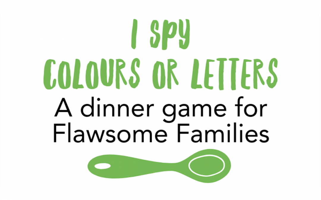 The Eye (I) Spy Game in colours or letters