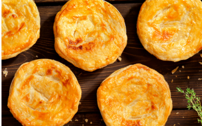 Spring herb chicken pot pies