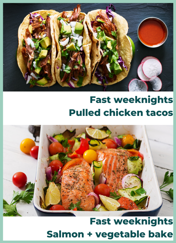 fast weeknights examples