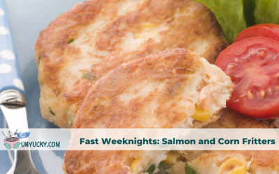 Creamy Salmon and Corn Fritters – Fast Weeknight Pantry Meal