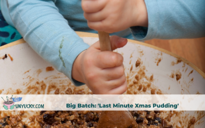 "The ""I Almost Left It Too Late"" Christmas Pudding"